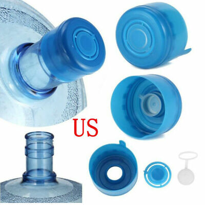 $ CDN3.81 • Buy 5Pc Reusable Water Bottle Snap On Cap Replacement For 55mm 3-5 Gallon Water Jug