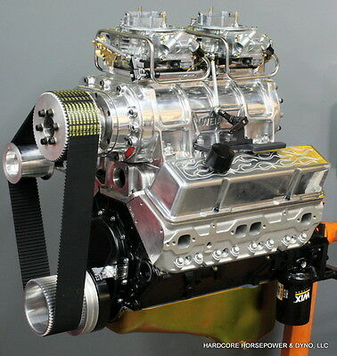 383ci Small Block Chevy Blown Pro-Street Engine 600hp+ Built-To-Order Dyno Tuned • 12,824.99$