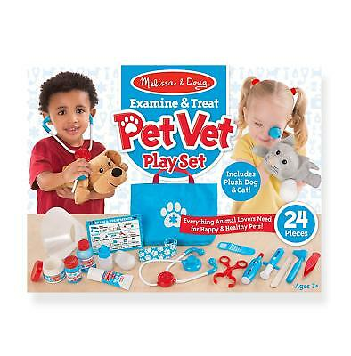 Pet Vet Play Set Kids Toys Role Play Game Christmas Gift - Melissa And Doug • 23.30£
