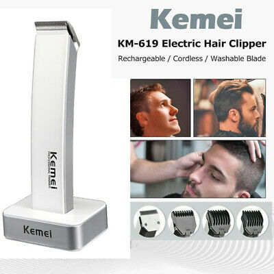 Rechargeable Hair Clipper Electric Shave Machine Razor Trimmer Haircut Set Black • 13.97£