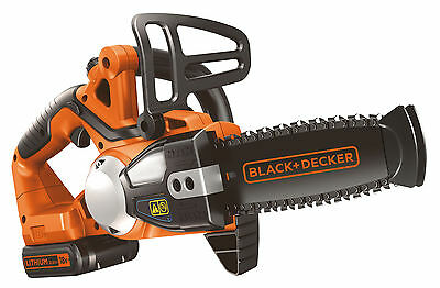 View Details Black&decker GKC1820L20 Chainsaw Battery Powered 18V Lithium CM.20 • 127.16£