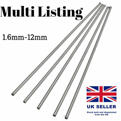 £5.35 • Buy 2-12mm Stainless Steel 304 Tube Pipe Model Arts Craft RC Tubing Round DIY 250mm