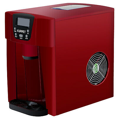$1118.90 • Buy 2 IN 1 26LBS Electric Cool Water Dispenser Built-In Ice Maker Machine Red