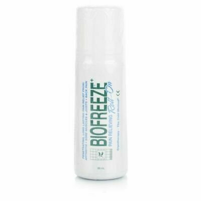 Biofreeze Pain Relieving Roll On | 3 X 89ml Genuine UK PHARMACY STOCK • 28.95£