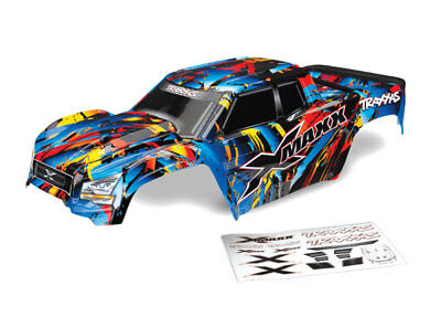 AU143.23 • Buy Traxxas 7711T X-Maxx Body, Rock And Roll