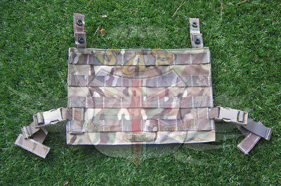 Uk British Army Surplus Mk.4 Osprey Mtp Tear Off Cqb Molle Pouch Panel,ops Panel • 12.99£
