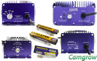 Lumatek Ultimate Pro 600W &1000 400V & CMH Ballasts 315W & 630W Plus Bulbs • 244.95£
