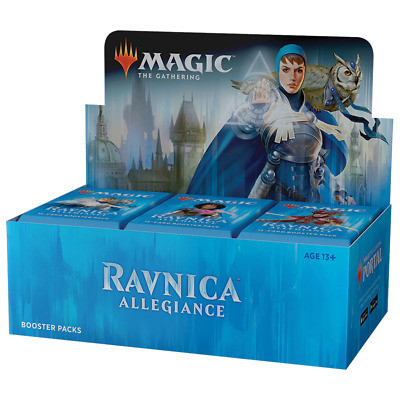 AU150.95 • Buy Magic The Gathering MTG Ravnica Allegiance Booster Box W/ 36 Boosters