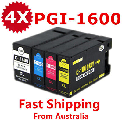 AU18.90 • Buy Non-OEM PGI1600XL PGI 1600XL Ink Cartridge For Canon Maxify MB2060 MB2360 MB2160