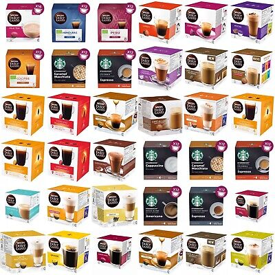 £6.35 • Buy NESCAFE DOLCE GUSTO COFFEE PODS (1 BOX )-Buy 3 Get 1 FREE (Add 4 To Basket)