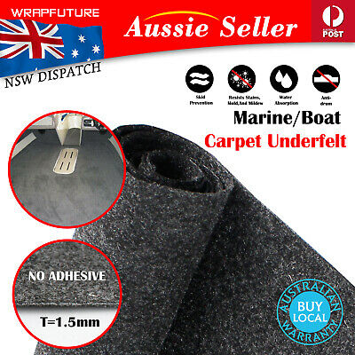 AU64.16 • Buy Anti Slippery Marine Carpet Floor Felt Boat Yacht Houseboat Deck Cabin Mat 3Mx2M