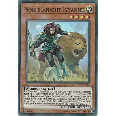 Yu-Gi-Oh! TCG: Noble Knight Iyvanne - SOFU-EN088 - Super Rare Card - Unlimited • 0.99£