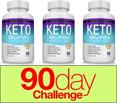 $42.97 • Buy Keto Burn Diet Pills 1200 MG - Advanced Ketosis Weight Loss Supplement 3 Months