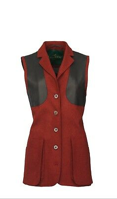Laksen Ladies Normandy Tailor Shooting Vest REDUCED FURTHER • 140£