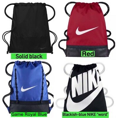 b613545c22ac NEW Nike Brasilia Gym Sack Bag Drawstring Backpack  RED