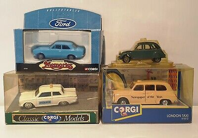 Cars : Ford Escort Die Cast Model Made By Corgi In 1998 • 30£