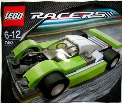 Lego Racers Le Mans Sports Car (Green) 7452. Small Polybag Set. • 9.36£
