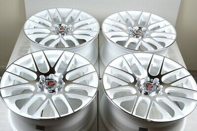 $479 • Buy 4 New DDR Haze 15x6.5 4x100/114.3 35mm White/Polished 15  Wheels Rims