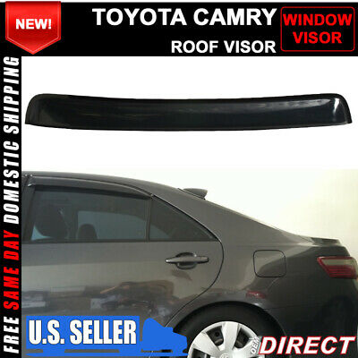 $39.99 • Buy For 07-11 Toyota Camry Sedan Sun Roof Top Rear Window Visor Vent Shield