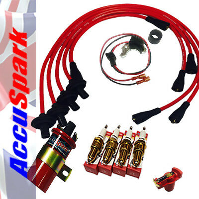 $96.04 • Buy VW Beetle And Bus Electronic Ignition Performance Kit For Bosch 009 Distributors