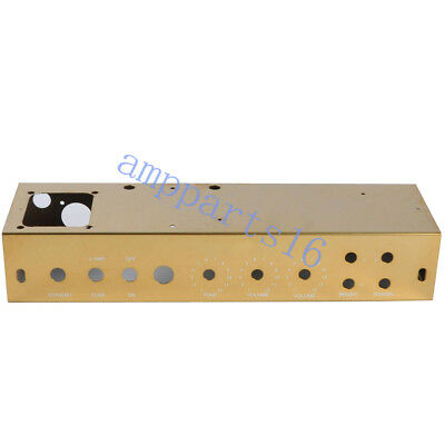 AU46.46 • Buy 1pcs 5E3 Gold Tweed Deluxe Stainless Steel Chassis For DIY Guitar Amp