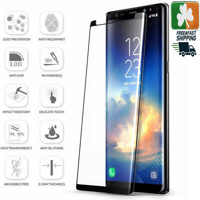 $ CDN8.02 • Buy Samsung Galaxy Note 9 CASE FRIENDLY 4D Clear HD Tempered Glass Screen Protector