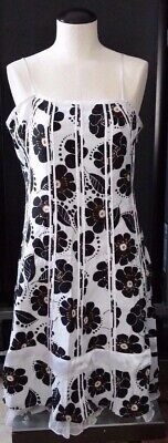 $ CDN50.31 • Buy Fancy Ariella Floral Laced Halter Sexy Evening Formal Party Dress Size L Womens