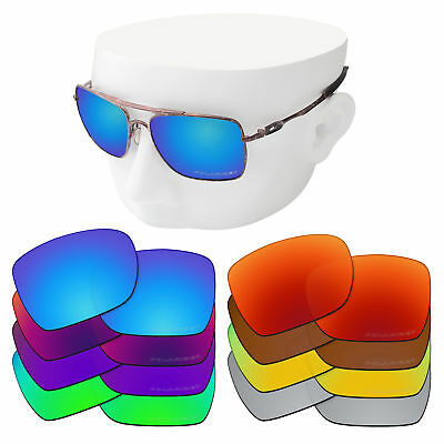 £15.26 • Buy OOWLIT Replacement Lenses For-Oakley Deviation Sunglasses Polarized Etched