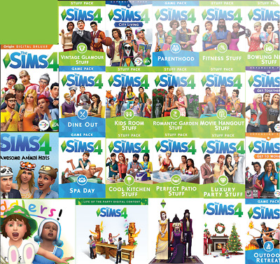 AU32.65 • Buy The Sims 4 ALL Expansion Packs INDIVIDUALLY Priced Origin Global PC Key