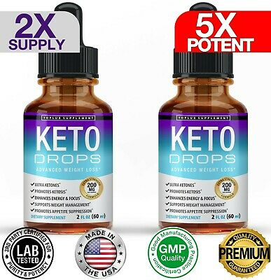 $16.97 • Buy Keto Diet Shred-Best Ketosis Drops Weight Loss Supplement Fat Burn&Carb Blocker