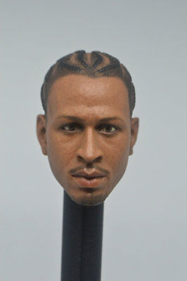 $19.99 • Buy HOT FIGURE TOYS 1/6 Scale  Allen Iverson Enterbay  Head  Headplay Custom  B