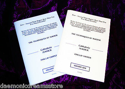 £44.70 • Buy CABBALISTIC MAGICK TECHNIQUES. 2 BOOK SET.  Finbarr Occult Witchcraft