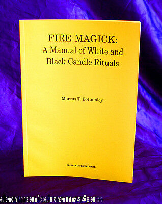 £22.50 • Buy FIRE MAGICK  Finbarr Occult. Magic. Marcus T. Bottomley Grimoire. Witchcraft
