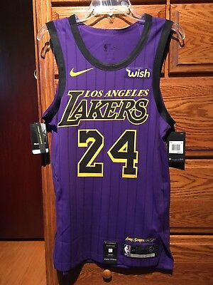 finest selection a6b7d f9a50 kobe bryant authentic jersey