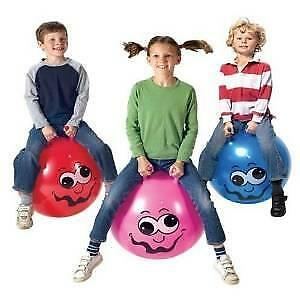 £6.94 • Buy Toy - Junior Space Hopper In Red, Blue Or Pink