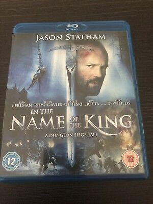 In The Name Of The King Blu Ray Jason Statham Region Free • 10£