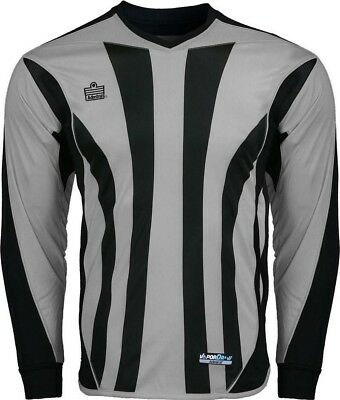$14.99 • Buy Admiral Bayern ADULT Padded Elbow Soccer Goalie Jersey, Silver / Black