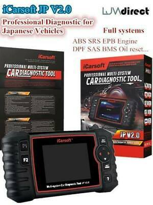 LATEST HONDA PROFESSIONAL MULTI SYSTEM DIAGNOSTIC SCAN TOOL Icarsoft JP V2.0 • 191.08$