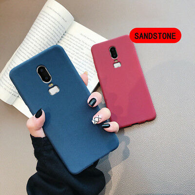 AU4.24 • Buy For OnePlus 6T 6 5t 3 Shockproof Ultra Thin Soft Sandstone Matte Back Case Cover