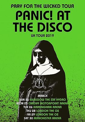 Panic At The Disco Poster A5 A4 A3 A2 • 6£