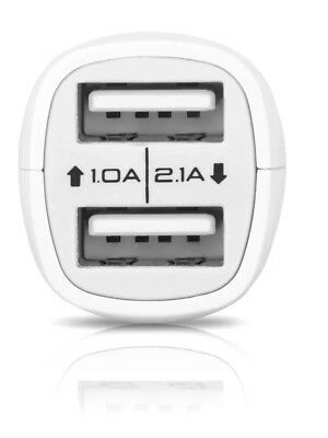 £2.99 • Buy Twin USB Port Car Travel Fast Charger 2 Amp IPhone 6 5S 6S 7 8 X Tom Tom Sat Nav
