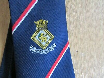 £9.99 • Buy HMS Nelson Royal Navy War Ship Military Interest Tie By Maddocks & Dick