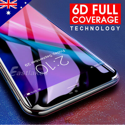 AU5.95 • Buy 2x For Apple IPhone 7 8 Plus Full Cover Curved Tempered Glass Screen Protector
