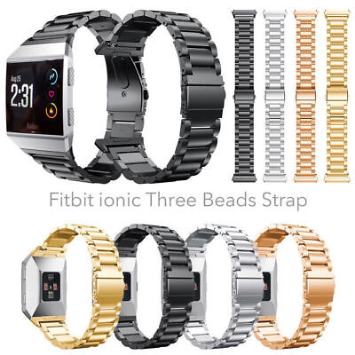 AU8.99 • Buy OZ For Fitbit Ionic Watch Stainless Steel Clasp Wrist Band Bracelet Replacement