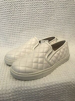 1a783e257f63 Mossimo Supply Co. Womens Reese Slip On Sneakers White Size 6.5 • 12.99