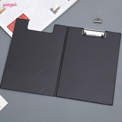 A4 Clipboard Fold Over Clip Board Writing Office Document Holder Pad Hard Filing • 2.89£