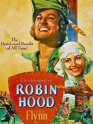 The Adventures Of Robin Hood DVD 1938 Errol Flynn Olivia De Havilland Classic • 1.69£
