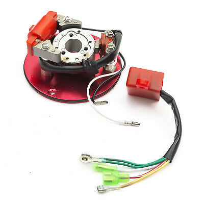 Pitbike Dirtbike Rapid Rotor / Racing Stator & CDI Kit 110cc-140cc Not YX Engine • 16.99£