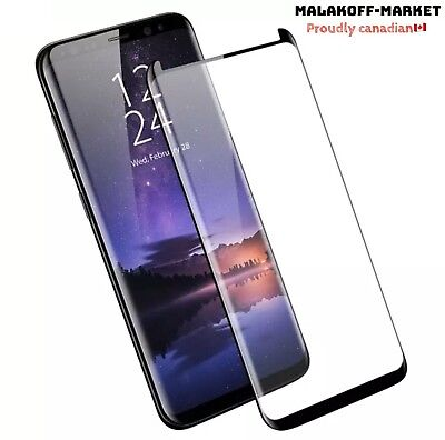 $ CDN6.99 • Buy Samsung Galaxy S9 Plus 9H Tempered Glass Screen Protector Case Friendly