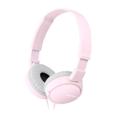 Sony MDR-ZX110 Stereo / Monitor Over-Head Headphones  In Pink • 13.25£